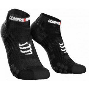 Compressport RACE V3.0 RUN LO černá T4 - Běžecké ponožky