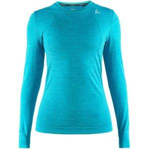Craft FUSEKNIT COMFORT LS modrá L - Dámské funkční triko