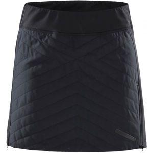Craft STORM THERMAL černá L - Dámská větruodolná sukně