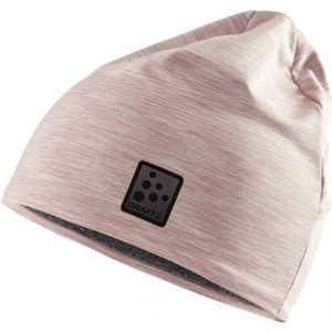 Craft MICROFLEECE PONYTAIL růžová UNI - Funkční čepice