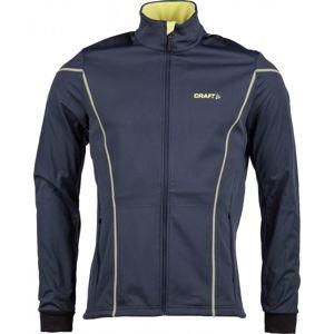 Craft BUNDA DISCOVERY M modrá XXL - Pánská softshellová bunda na běžecké lyžování