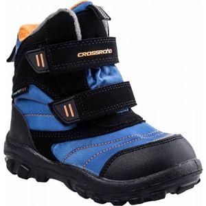 Crossroad CUDDI modrá 27 - Dětská zimní obuv