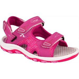 Crossroad MAALIK fialová 30 - Dětské sandály
