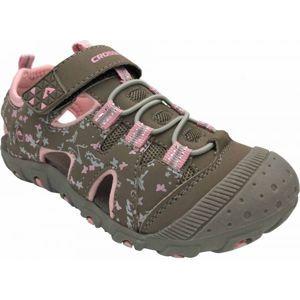 Crossroad MUGEN šedá 28 - Dětské sandály