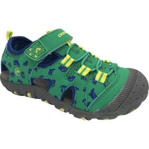 Crossroad MUGEN zelená 25 - Dětské sandály