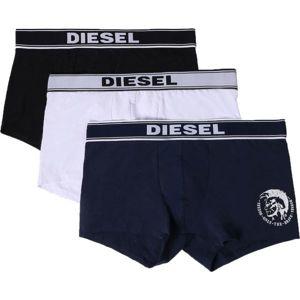 Diesel UMBX-SHAWNTHREEPACK BOXER 3PACK bílá S - Pánské boxerky