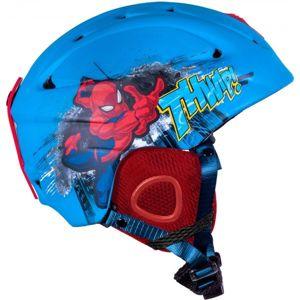 Disney SPIDERMAN modrá (54 - 58) - Dětská lyžařská helma