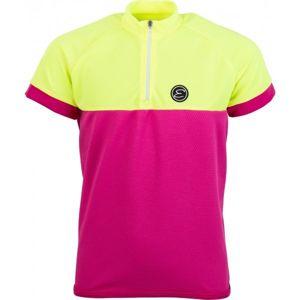 Etape PEDDY DRES KIDS žlutá 128-134 - Dětský cyklistický dres