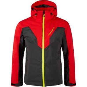 Fischer JACKET KAPRUN M červená XL - Pánská lyžařská bunda