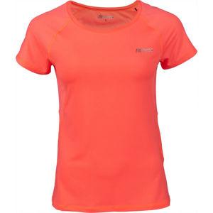 Fitforce JULIET oranžová M - Dámské fitness triko