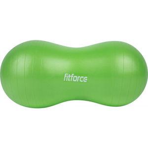 Fitforce PEANUTBALL 90 zelená NS - Gymnastický míč