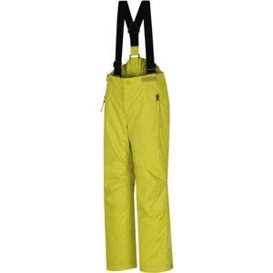 Hannah KALHOTY AKITA JR žlutá 152 - Dětské lyžařské kalhoty
