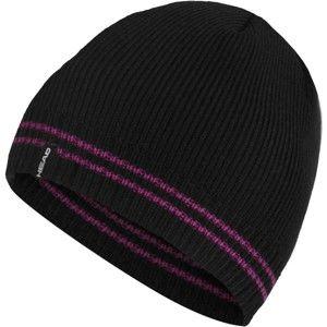 Head DAISY černá UNI - Dámská pletená čepice