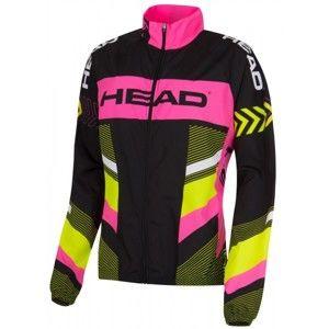 Head LADY ANORAK černá XS - Dámská cyklistická větrovka