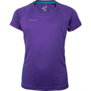 Head DEMI fialová 152-158 - Dívčí funkční triko