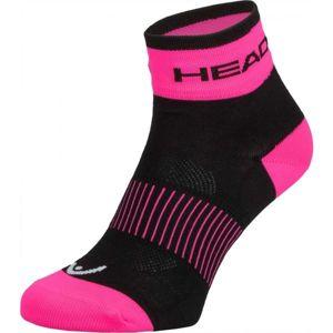 Head SOCKS YELLOW růžová 37/39 - Cyklistické ponožky