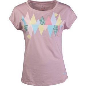 Head TRUDY světle růžová L - Dámské triko