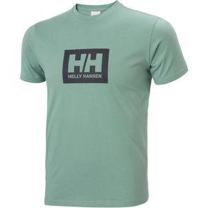 Helly Hansen TOKYO T-SHIRT zelená XL - Pánské triko