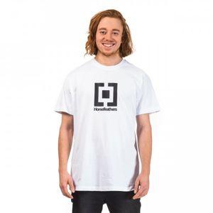 Horsefeathers BASE T-SHIRT bílá M - Pánské tričko