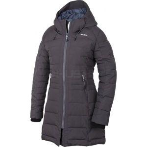 Husky W 17 NORMY L tmavě šedá M - Dámský zimní kabát