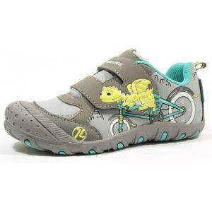 Junior League ABDON šedá 34 - Dětská volnočasová obuv