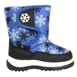Junior League SANNA modrá 33 - Dětská zimní obuv
