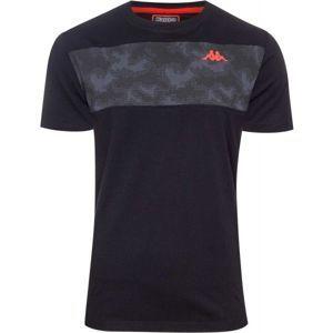 Kappa LOGO KOB 1 černá XL - Pánské triko