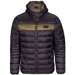 Kappa STUIL hnědá M - Pánská zimní bunda