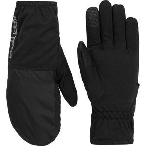 KARI TRAA MARIKA GLOVE černá 8 - Dámské rukavice 2v1