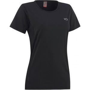 KARI TRAA NORA TEE černá M - Dámské sportovní tričko