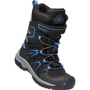 Keen LEVO WINTER WP C černá 12 - Dětské zimní boty