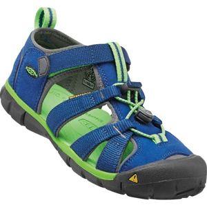 Keen SEACAMP II CNX JR tmavě modrá 6 - Juniorská letní obuv