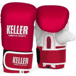 Keller Combative BOXERSKÉ RUKAVICE RAVEN červená S - Boxerské rukavice pytlovky