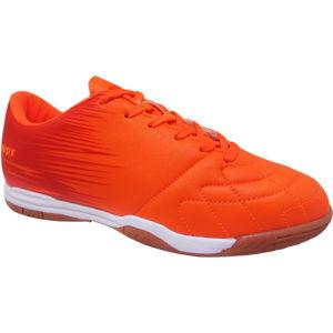 Kensis FLINT IN oranžová 38 - Juniorská sálová obuv
