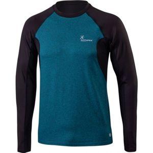 Klimatex DR SVEN zelená XL - Pánské běžecké tričko s dlouhým rukávem