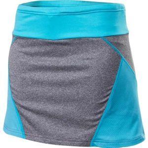 Klimatex IRINA modrá XL - Dámská běžecká sukně 2v1