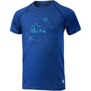 Klimatex KIA modrá 146 - Dětské triko