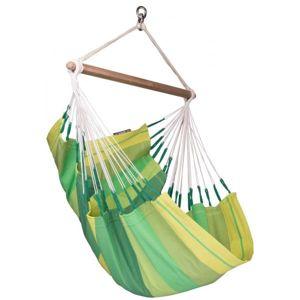La Siesta ORQUIDEA BASIC zelená  - Závěsné houpací křeslo