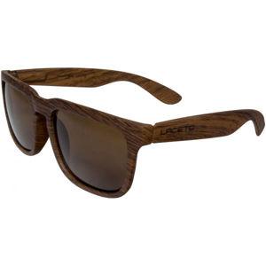 Laceto WOODY hnědá NS - Sluneční brýle