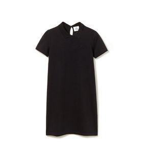 Lacoste WOMEN S DRESS černá 34 - Dámské šaty