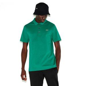 Lacoste MAN SHORT SLEEVES BEST POLO tmavě zelená XL - Pánské polo tričko
