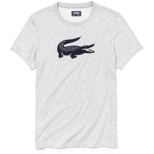 Lacoste MAN T-SHIRT šedá S - Pánské tričko