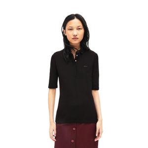 Lacoste S S/S BEST POLO černá 36 - Dámské polo tričko