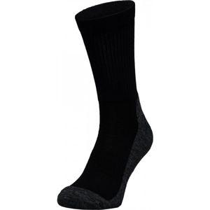 Lenz TREKKING 5.0 černá 42-44 - Sportovní ponožky