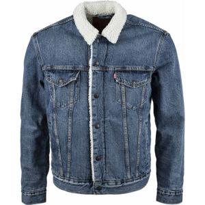 Levi's TYPE 3 SHERPA TRUCKER CORE  XL - Pánská džínová bunda