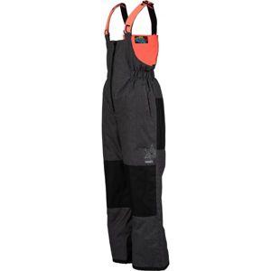 Lewro BONIFACE oranžová 92-98 - Dětské lyžařské kalhoty