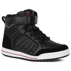 Lewro CUBIQ černá 29 - Dětská zimní obuv
