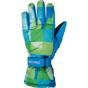 Lewro LANZO modrá 4-7 - Dětské rukavice