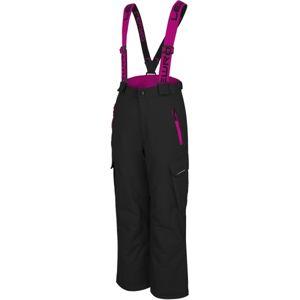 Lewro MATY 140-170 růžová 164-170 - Dětské snowboardové kalhoty