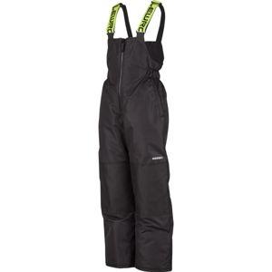 Lewro LESLIE 116-170 černá 140-146 - Dětské zateplené kalhoty